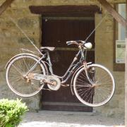 A bicyclette !!